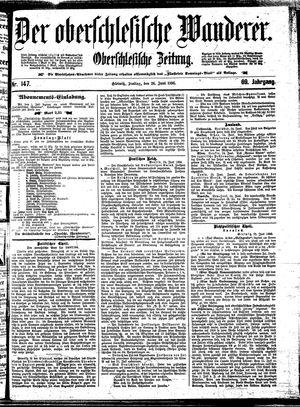 ˜Derœ Oberschlesische Wanderer vom 26.06.1896