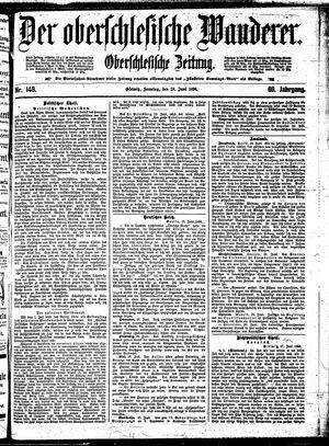 ˜Derœ Oberschlesische Wanderer vom 28.06.1896