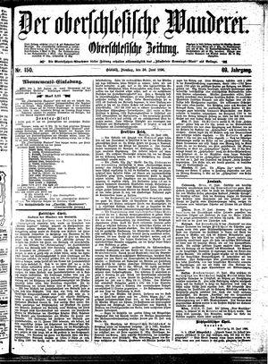 ˜Derœ Oberschlesische Wanderer vom 30.06.1896