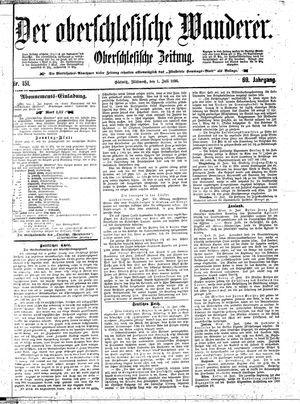 ˜Derœ Oberschlesische Wanderer vom 01.07.1896