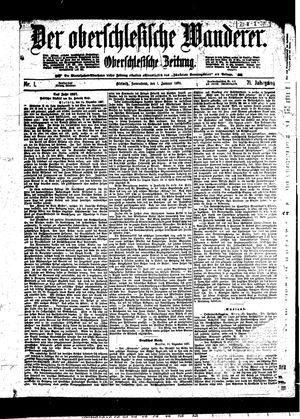 ˜Derœ Oberschlesische Wanderer vom 01.01.1898