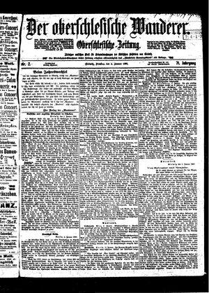 ˜Derœ Oberschlesische Wanderer vom 04.01.1898