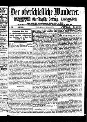 ˜Derœ Oberschlesische Wanderer vom 14.01.1898