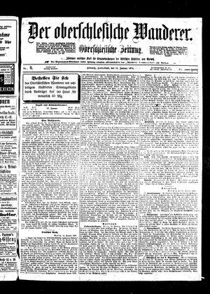 ˜Derœ Oberschlesische Wanderer vom 15.01.1898