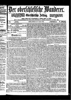 ˜Derœ Oberschlesische Wanderer vom 19.01.1898