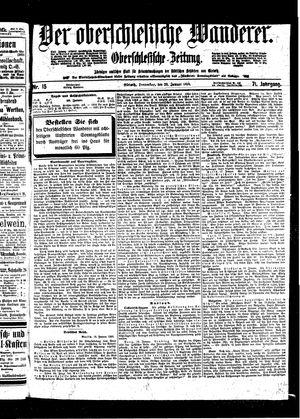 ˜Derœ Oberschlesische Wanderer vom 20.01.1898