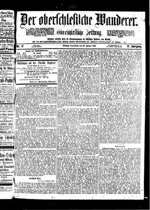 ˜Derœ Oberschlesische Wanderer vom 22.01.1898