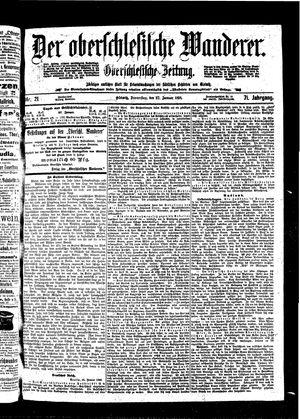 ˜Derœ Oberschlesische Wanderer vom 27.01.1898