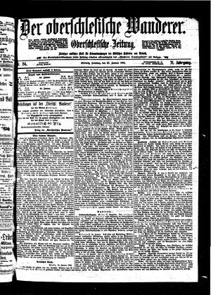 ˜Derœ Oberschlesische Wanderer vom 30.01.1898