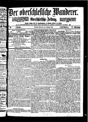 ˜Derœ Oberschlesische Wanderer vom 02.02.1898