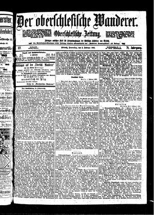 ˜Derœ Oberschlesische Wanderer vom 03.02.1898