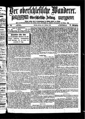 ˜Derœ Oberschlesische Wanderer vom 04.02.1898