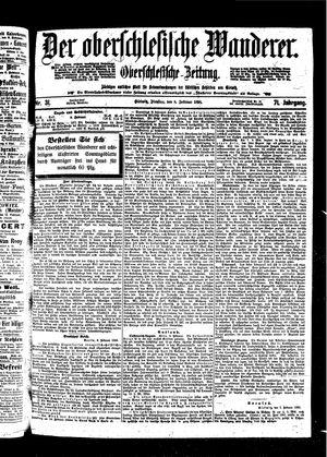 ˜Derœ Oberschlesische Wanderer vom 08.02.1898