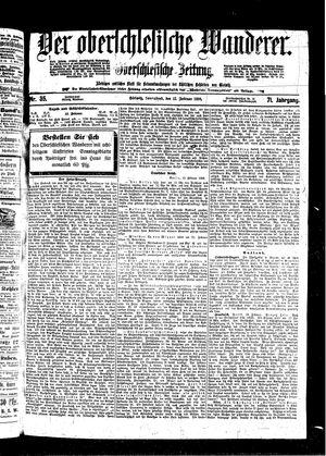 ˜Derœ Oberschlesische Wanderer vom 12.02.1898