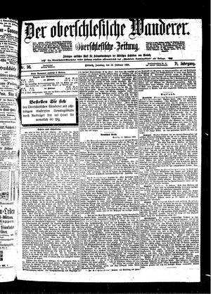 ˜Derœ Oberschlesische Wanderer vom 13.02.1898