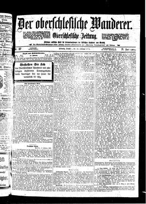 ˜Derœ Oberschlesische Wanderer vom 15.02.1898