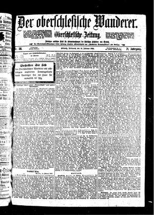 ˜Derœ Oberschlesische Wanderer vom 16.02.1898