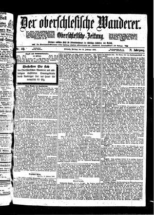 ˜Derœ Oberschlesische Wanderer vom 18.02.1898