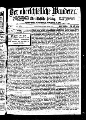 ˜Derœ Oberschlesische Wanderer vom 19.02.1898