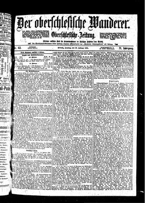 ˜Derœ Oberschlesische Wanderer vom 20.02.1898