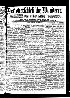 ˜Derœ Oberschlesische Wanderer vom 22.02.1898