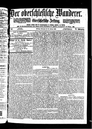 ˜Derœ Oberschlesische Wanderer vom 23.02.1898