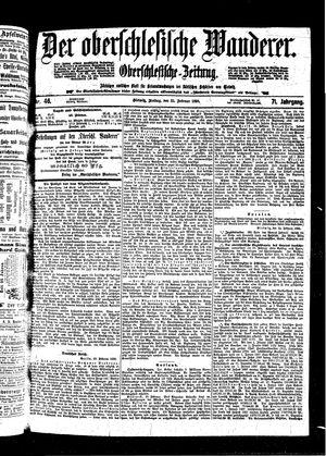 ˜Derœ Oberschlesische Wanderer vom 25.02.1898