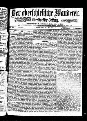 ˜Derœ Oberschlesische Wanderer vom 01.03.1898