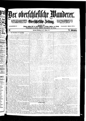 ˜Derœ Oberschlesische Wanderer vom 22.03.1898