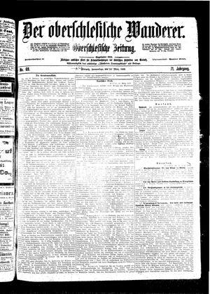 ˜Derœ Oberschlesische Wanderer vom 24.03.1898