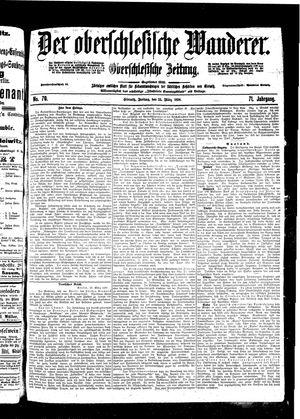 ˜Derœ Oberschlesische Wanderer vom 25.03.1898