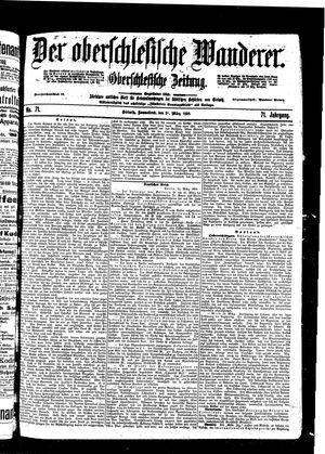 ˜Derœ Oberschlesische Wanderer vom 26.03.1898