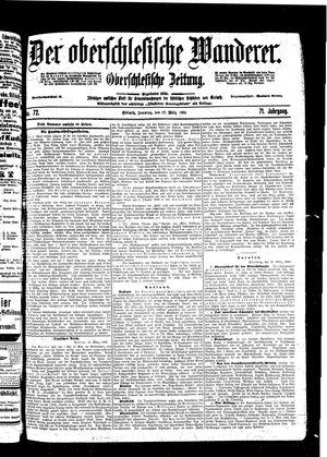 ˜Derœ Oberschlesische Wanderer vom 27.03.1898