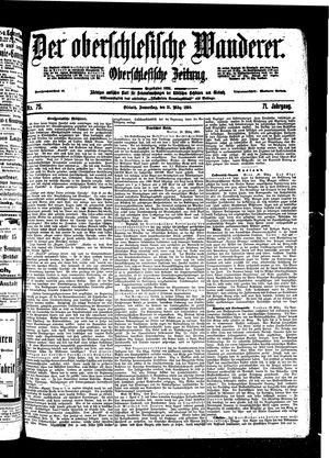 ˜Derœ Oberschlesische Wanderer vom 31.03.1898