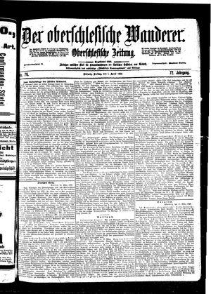 ˜Derœ Oberschlesische Wanderer vom 01.04.1898