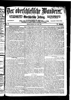 ˜Derœ Oberschlesische Wanderer vom 02.04.1898