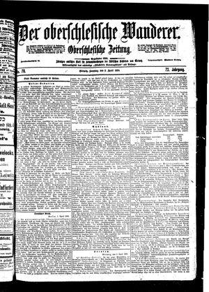 ˜Derœ Oberschlesische Wanderer vom 03.04.1898