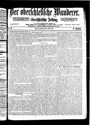 ˜Derœ Oberschlesische Wanderer vom 07.04.1898