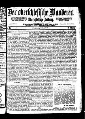 ˜Derœ Oberschlesische Wanderer vom 08.04.1898