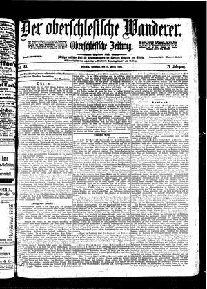 ˜Derœ Oberschlesische Wanderer vom 10.04.1898