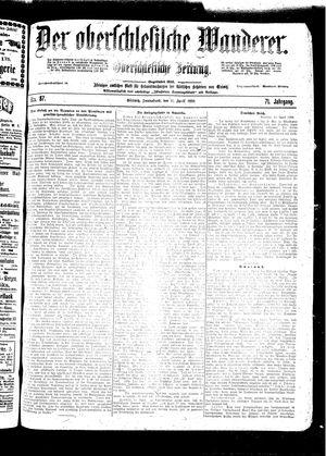 ˜Derœ Oberschlesische Wanderer vom 16.04.1898