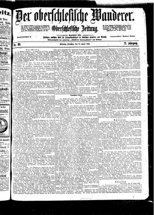 ˜Derœ Oberschlesische Wanderer vom 19.04.1898