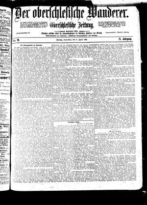 ˜Derœ Oberschlesische Wanderer vom 21.04.1898