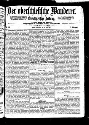 ˜Derœ Oberschlesische Wanderer vom 23.04.1898