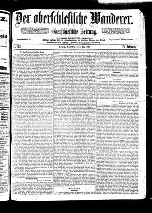 ˜Derœ Oberschlesische Wanderer on May 5, 1898