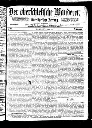 ˜Derœ Oberschlesische Wanderer vom 06.05.1898