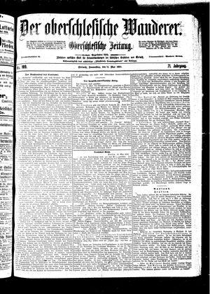 ˜Derœ Oberschlesische Wanderer vom 12.05.1898