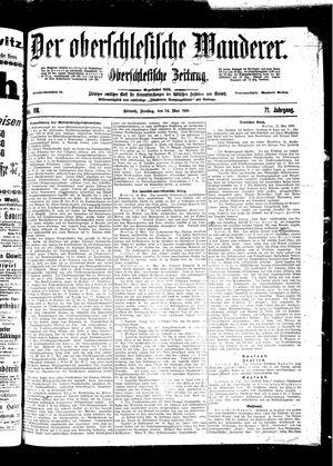 ˜Derœ Oberschlesische Wanderer vom 24.05.1898
