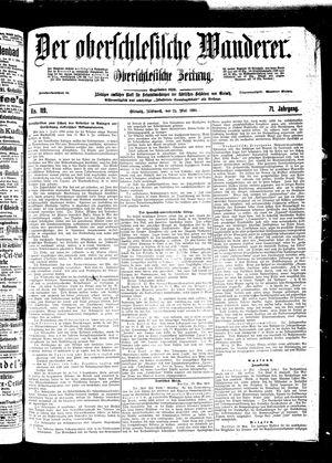 ˜Derœ Oberschlesische Wanderer vom 25.05.1898