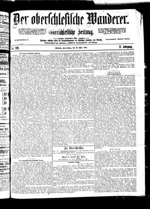 ˜Derœ Oberschlesische Wanderer vom 26.05.1898